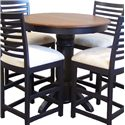 American Amish Bistro  Bistro Table - Item Number: 3636B-G