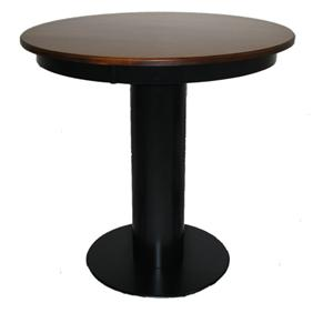 American Amish Bistro  Barrel Base Pub Table