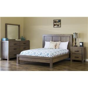 American Amish Canyon Lake King Bedroom Group
