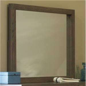 L.J. Gascho Furniture Canyon Lake Rectangle Beveled Mirror