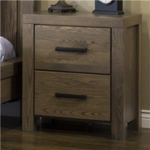 American Amish Canyon Lake 2 Drawer Nightstand