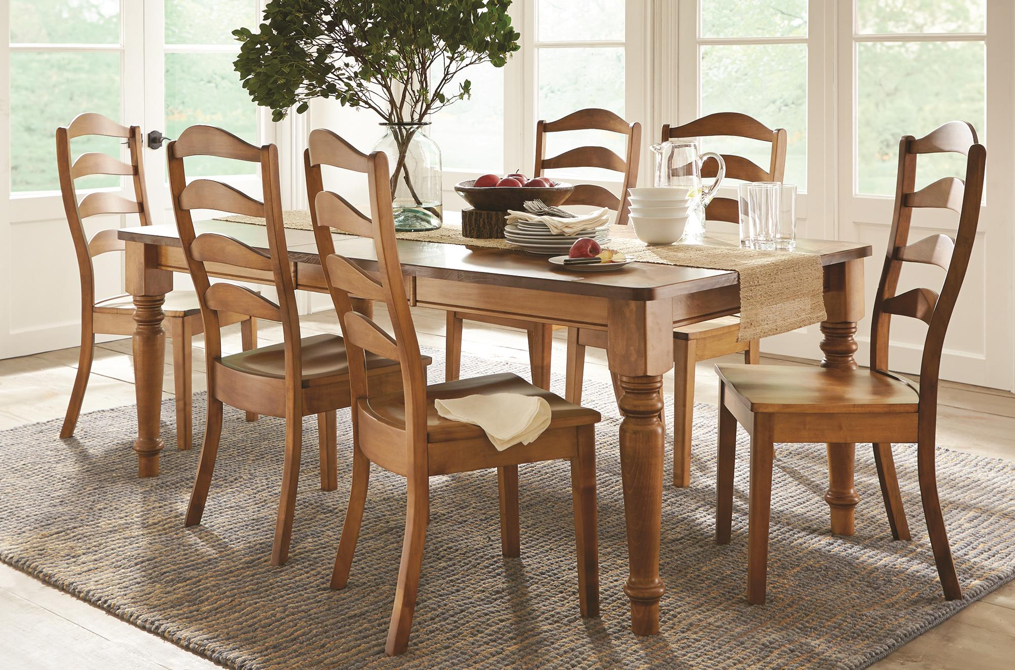 Colfax 5 Piece Solid Wood Dining Set Morris Home Dining 5