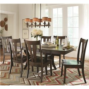 American Amish Covina 7 Piece Table & Chair Set