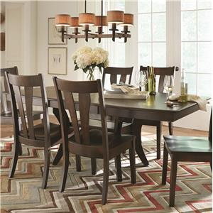 American Amish Covina Dining Table