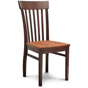 American Amish Solid Wood Dining Sets Venice Side Chair