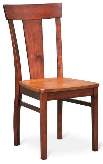 American Amish Solid Wood Dining Sets Laker Side Chair - Item Number: 55S