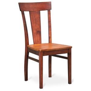 American Amish Solid Wood Dining Sets Laker Side Chair