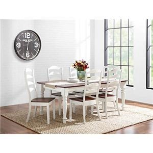 L.J. Gascho Furniture Essex Essex 5-Piece Dining Set