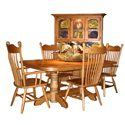 American Amish Heirloom Dining Arm Chair