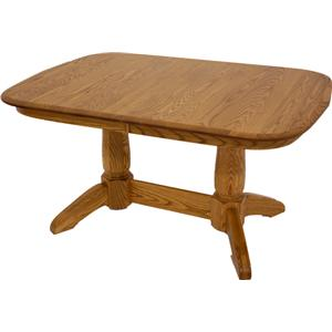 American Amish Heritage  Pedestal Dining Table