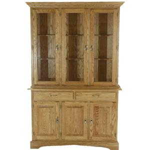 American Amish Heritage  Dining China Cabinet