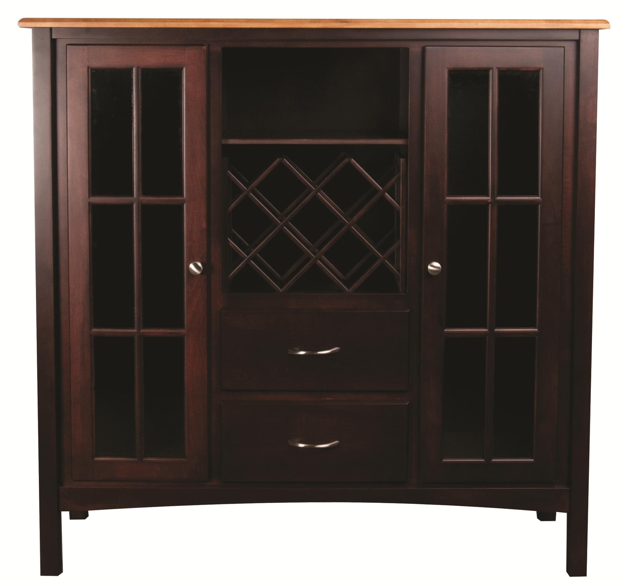 L.J. Gascho Furniture Larkin Larkin Server - Item Number: 4254/5252BWR