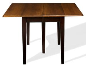 L.J. Gascho Furniture Saber Saber Solid Maple Drop Leaf Table