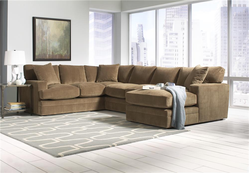 Lloyd's of Chatham 398 Viva Coffee 3PC SECTIONAL - Item Number: 398/KIT