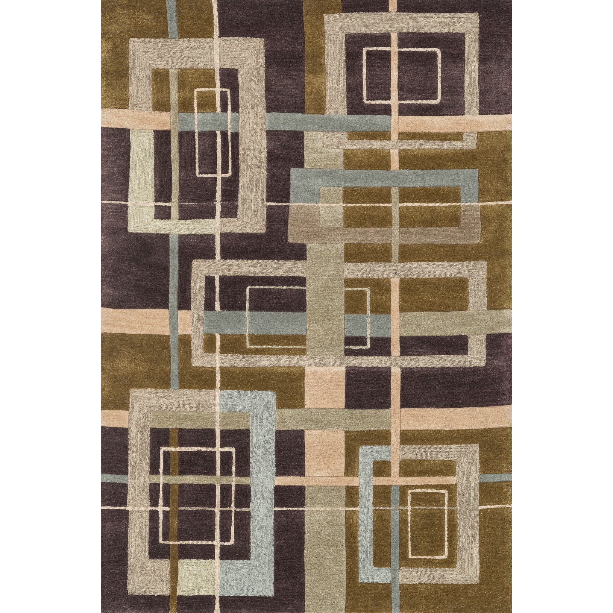 "Abacus 3'-6"" x 5'-6"" Area Rug by Loloi Rugs at Pedigo Furniture"