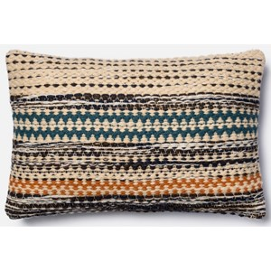 "Loloi Rugs Accent Pillows 13"" X 21"" Down Pillow"