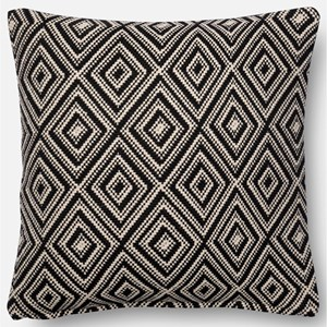 "Loloi Rugs Accent Pillows 18"" X 18"" Down Pillow"