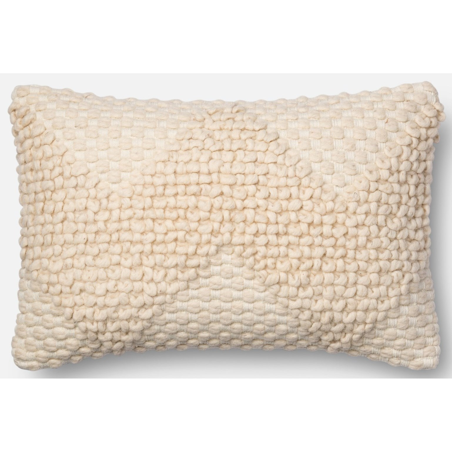 """Loloi Rugs Accent Pillows 13"""" X 21"""" Cover w/Poly - Item Number: PSETP1007IV00PIL5"""