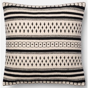 "Loloi Rugs Accent Pillows 18"" X 18"" Cover w/Poly"