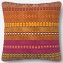 """Reeds Rugs Accent Pillows 18"""" X 18"""" Cover w/Poly - Item Number: PSETURO02MERNPIL1"""