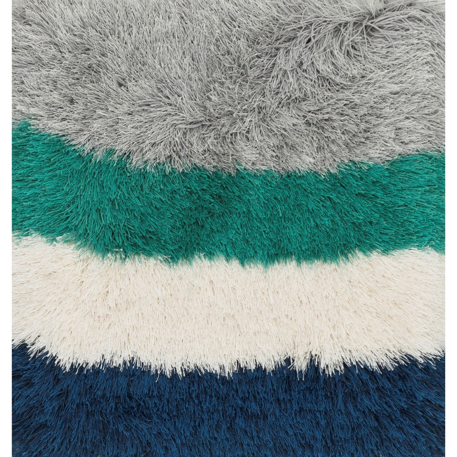 """Allure Shag 1'6"""" x 1'6""""  Color Block / 01 Rug by Loloi Rugs at Virginia Furniture Market"""