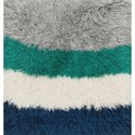 "Reeds Rugs Allure Shag 1'6"" x 1'6""  Color Block / 01 Rug - Item Number: ALLUAQ-01CK01160S"