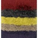 "Reeds Rugs Allure Shag 1'6"" x 1'6""  Color Block / 02 Rug - Item Number: ALLUAQ-01CK02160S"