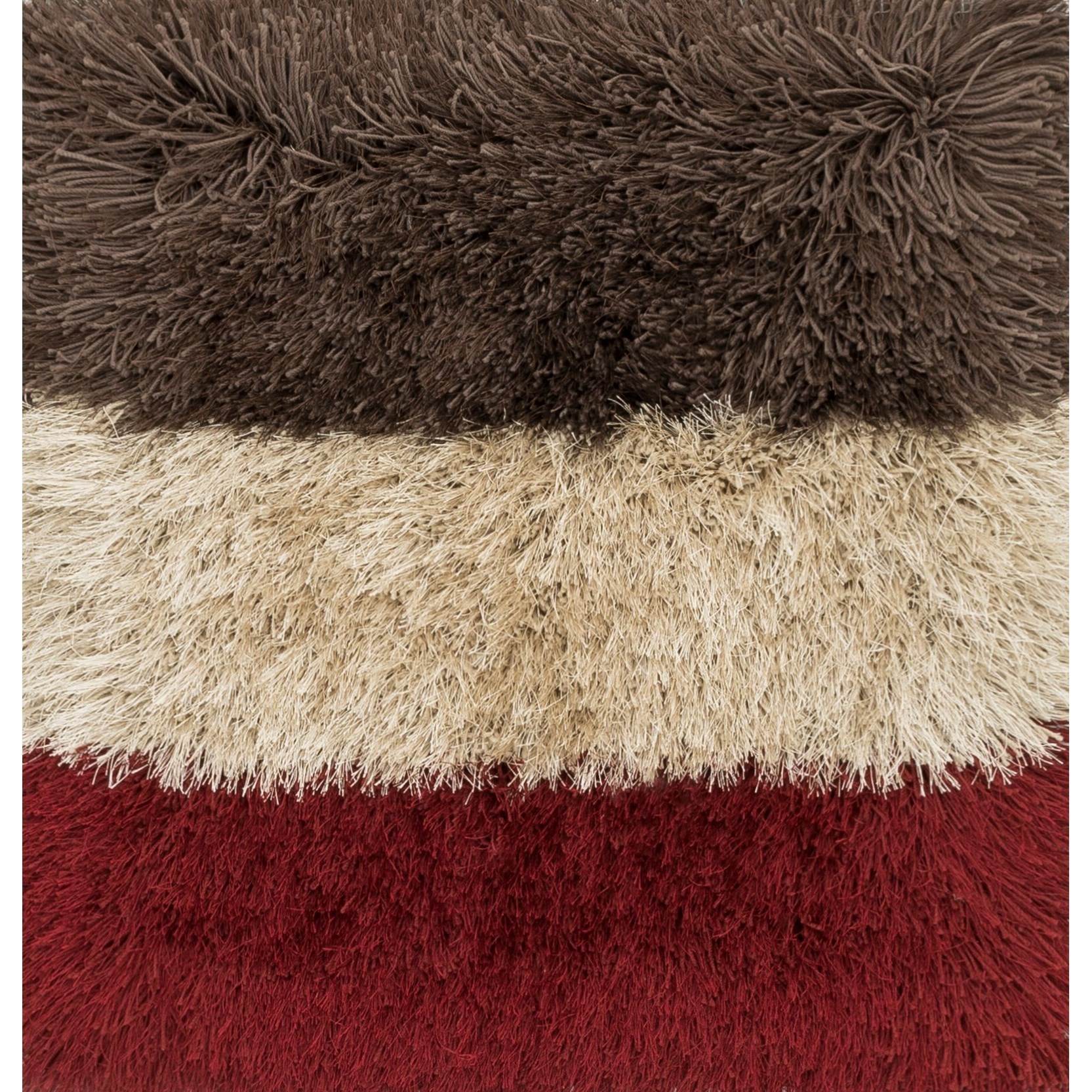 """Allure Shag 1'6"""" x 1'6""""  Color Block / 03 Rug by Loloi Rugs at Virginia Furniture Market"""