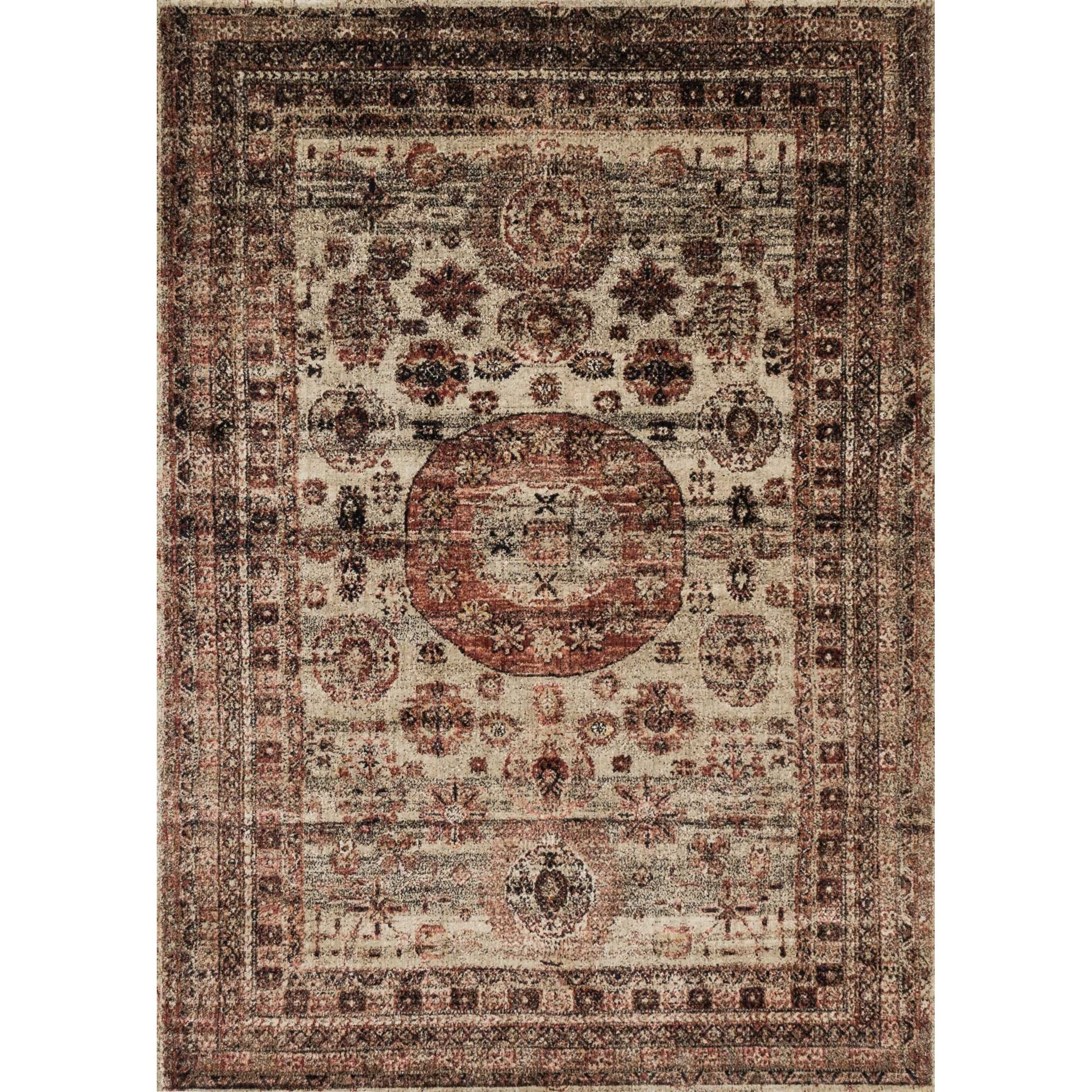 "Anastasia 5'-3"" X 7'-8"" Area Rug by Loloi Rugs at Sprintz Furniture"