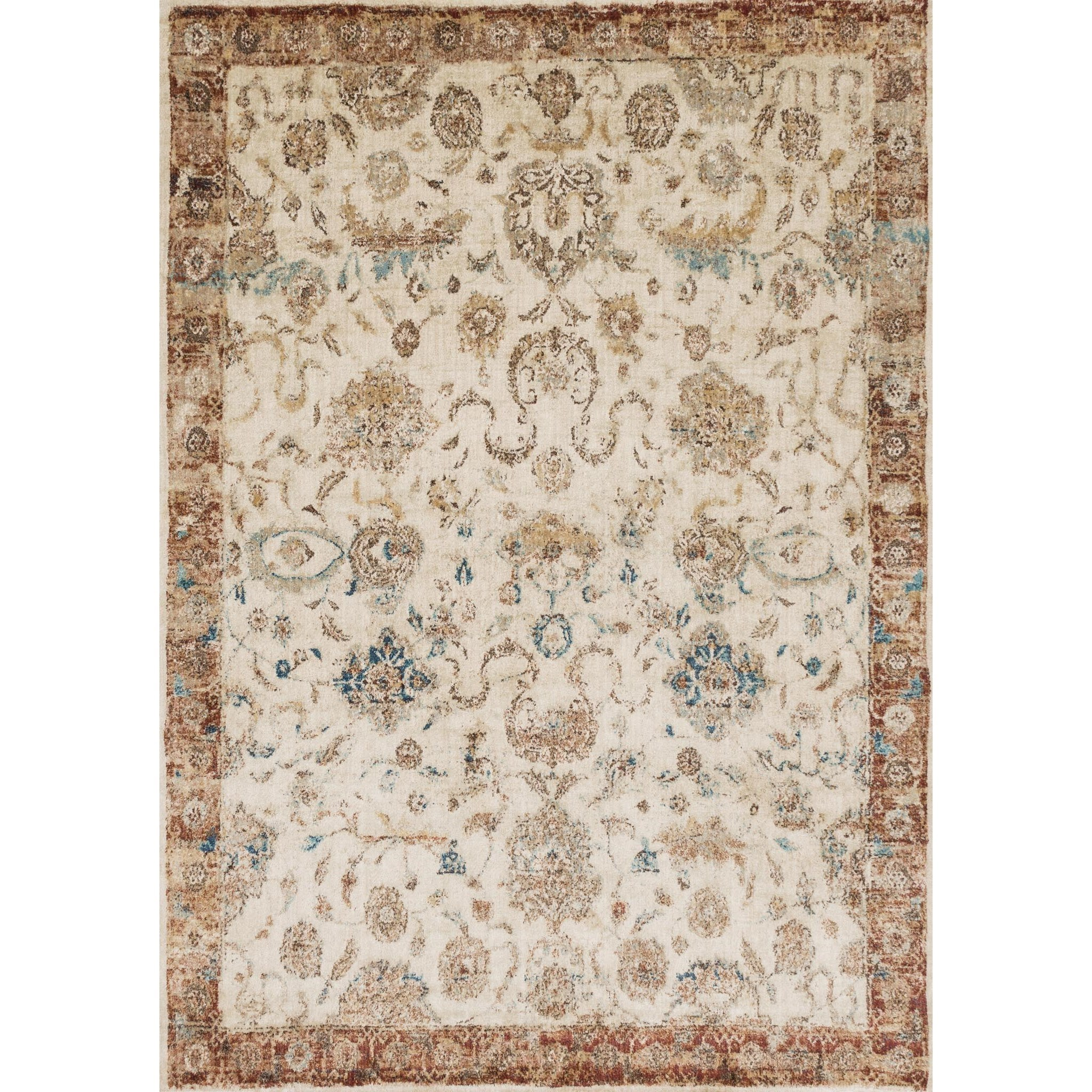 "Anastasia 6'-7"" X 9'-2"" Area Rug by Loloi Rugs at Virginia Furniture Market"