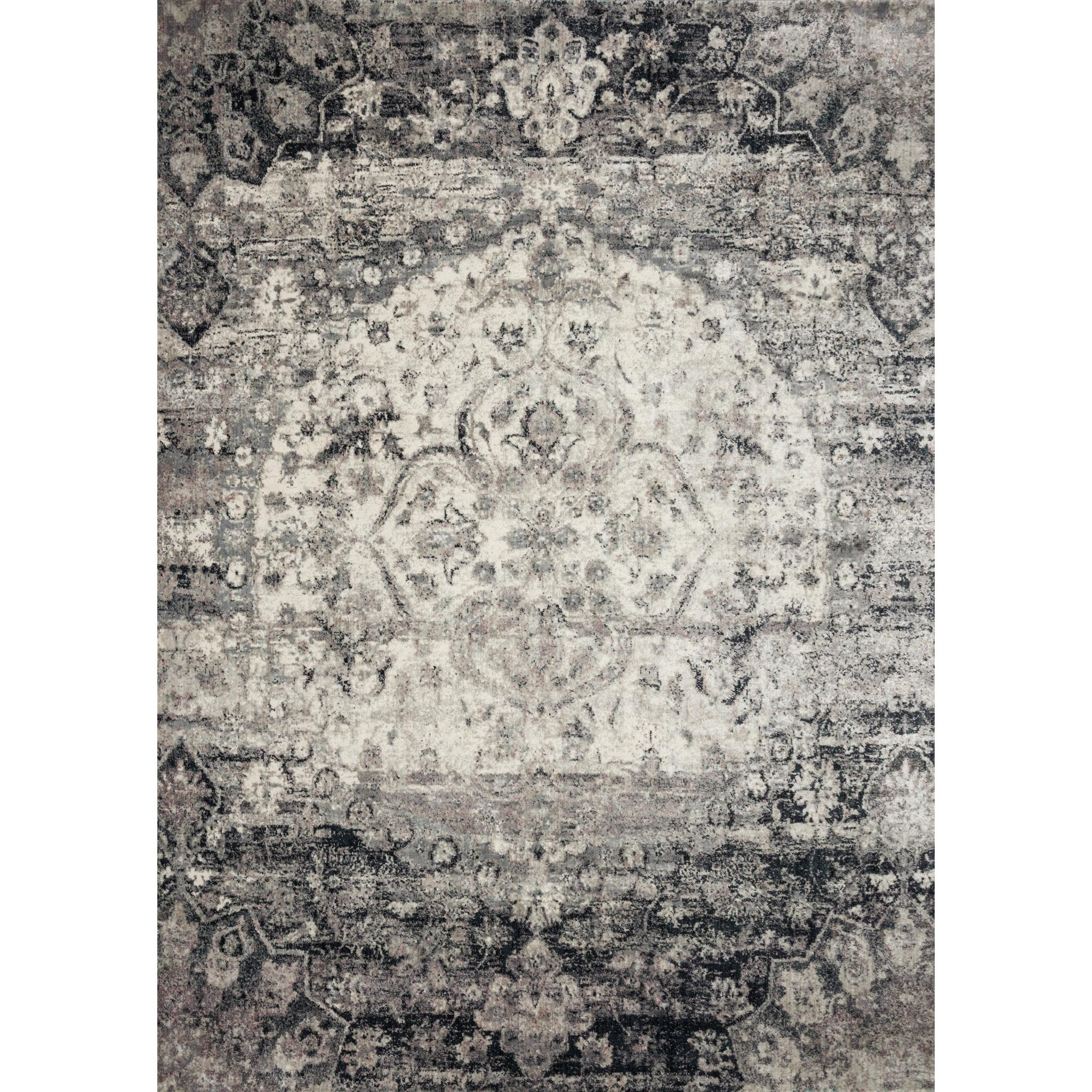 "Anastasia 9'-6"" x 9'-6"" Round Rug by Loloi Rugs at Virginia Furniture Market"