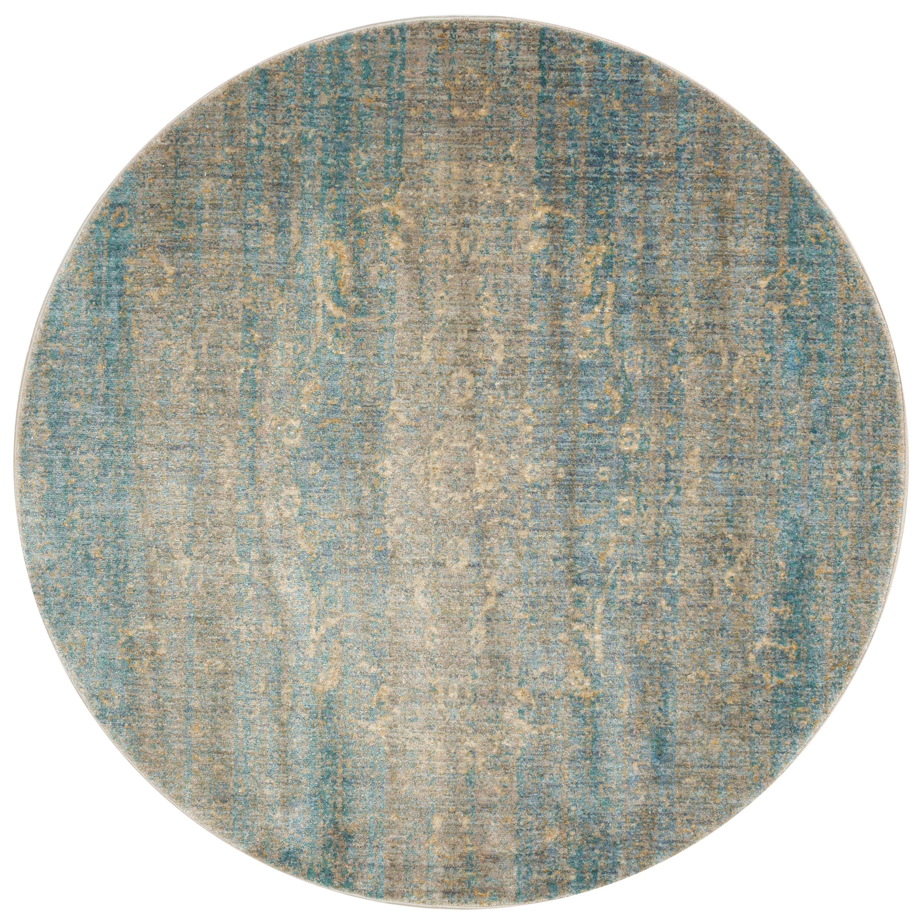 """Anastasia 9'-6"""" X 9'-6"""" Round Area Rug by Loloi Rugs at Sprintz Furniture"""