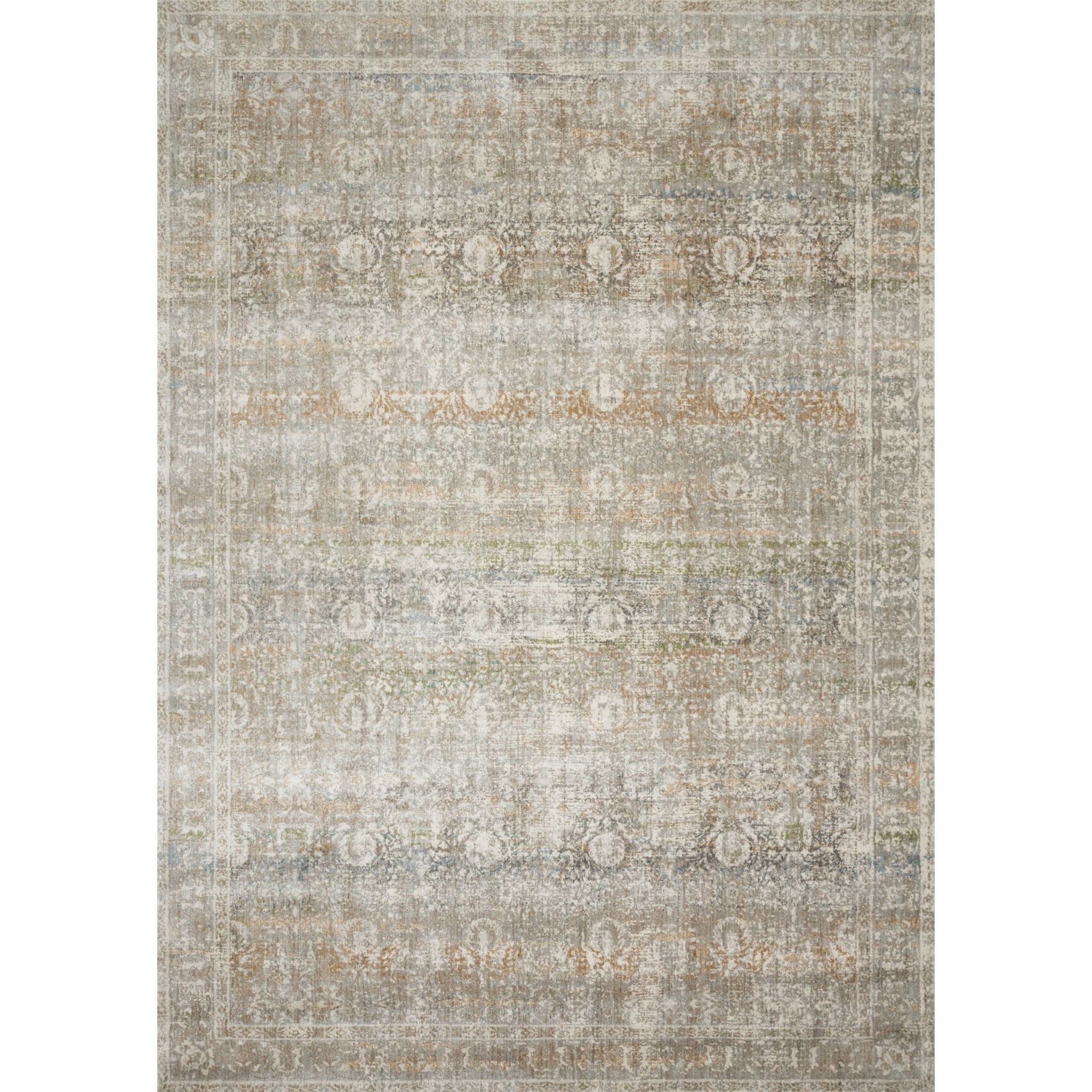 "Anastasia 5'-3"" x 5'-3"" Round Rug by Loloi Rugs at Virginia Furniture Market"