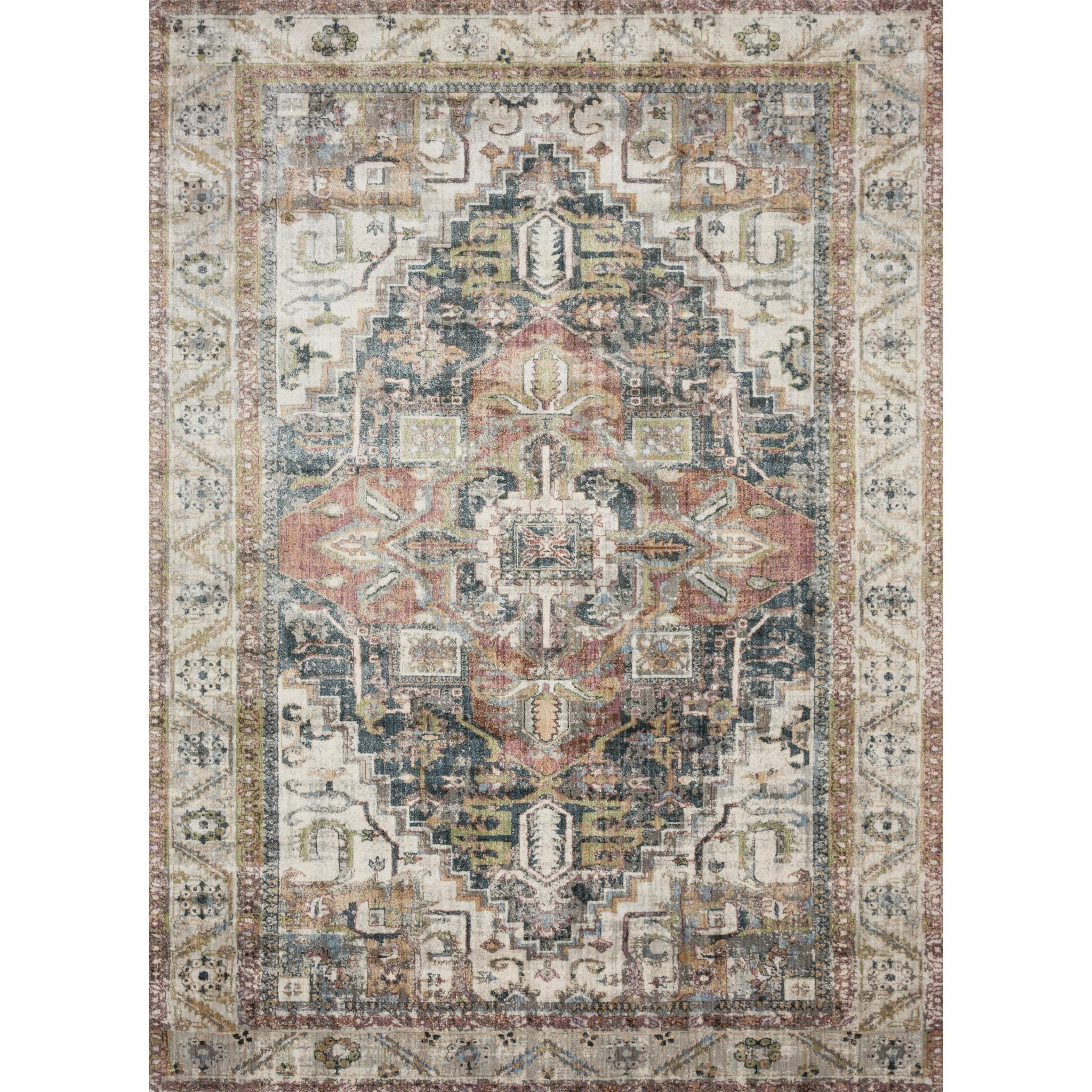 "Anastasia 7'-10"" x 7'-10"" Round Rug by Loloi Rugs at Virginia Furniture Market"