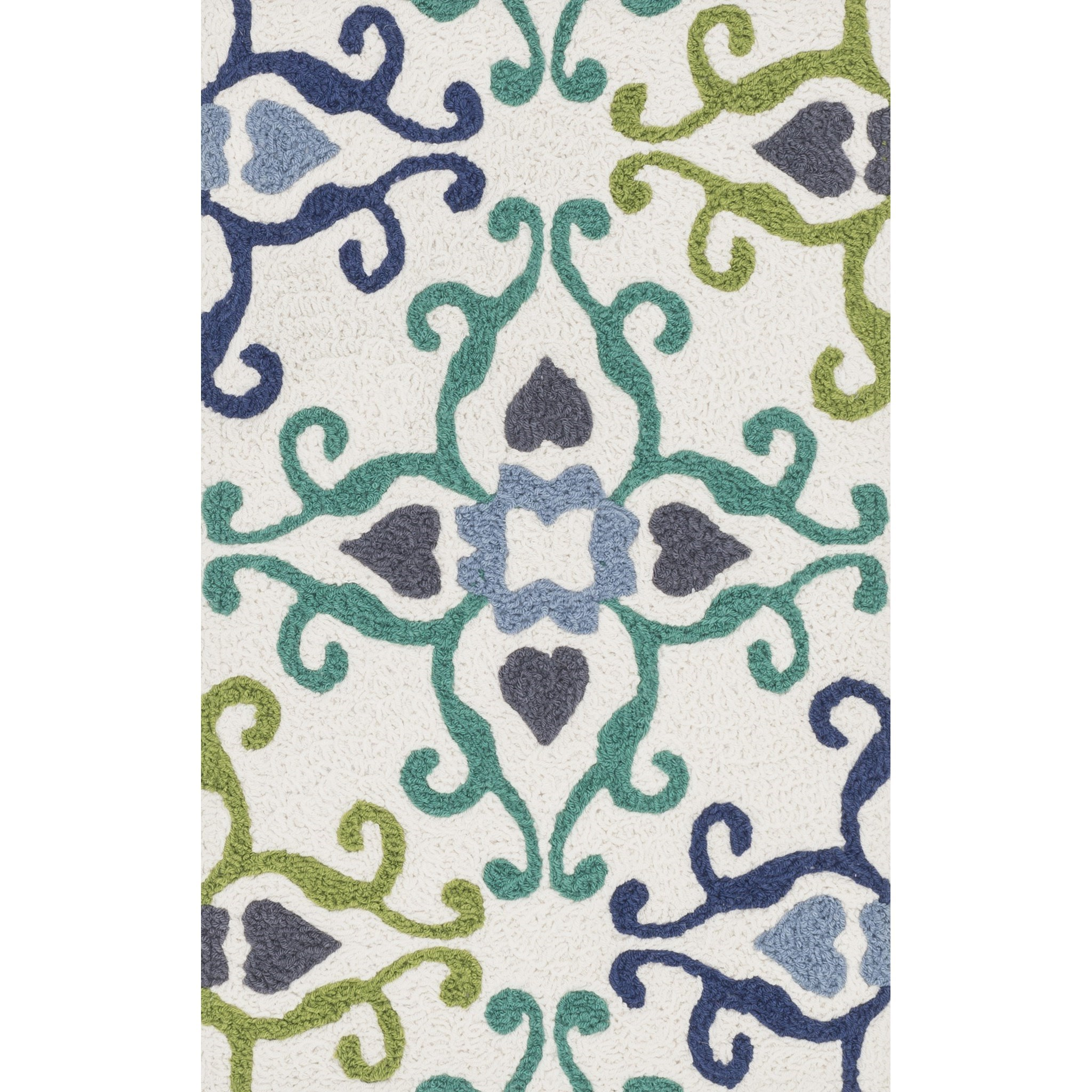"""Angelou 1'-9"""" x 2'-9"""" Area Rug by Loloi Rugs at Virginia Furniture Market"""