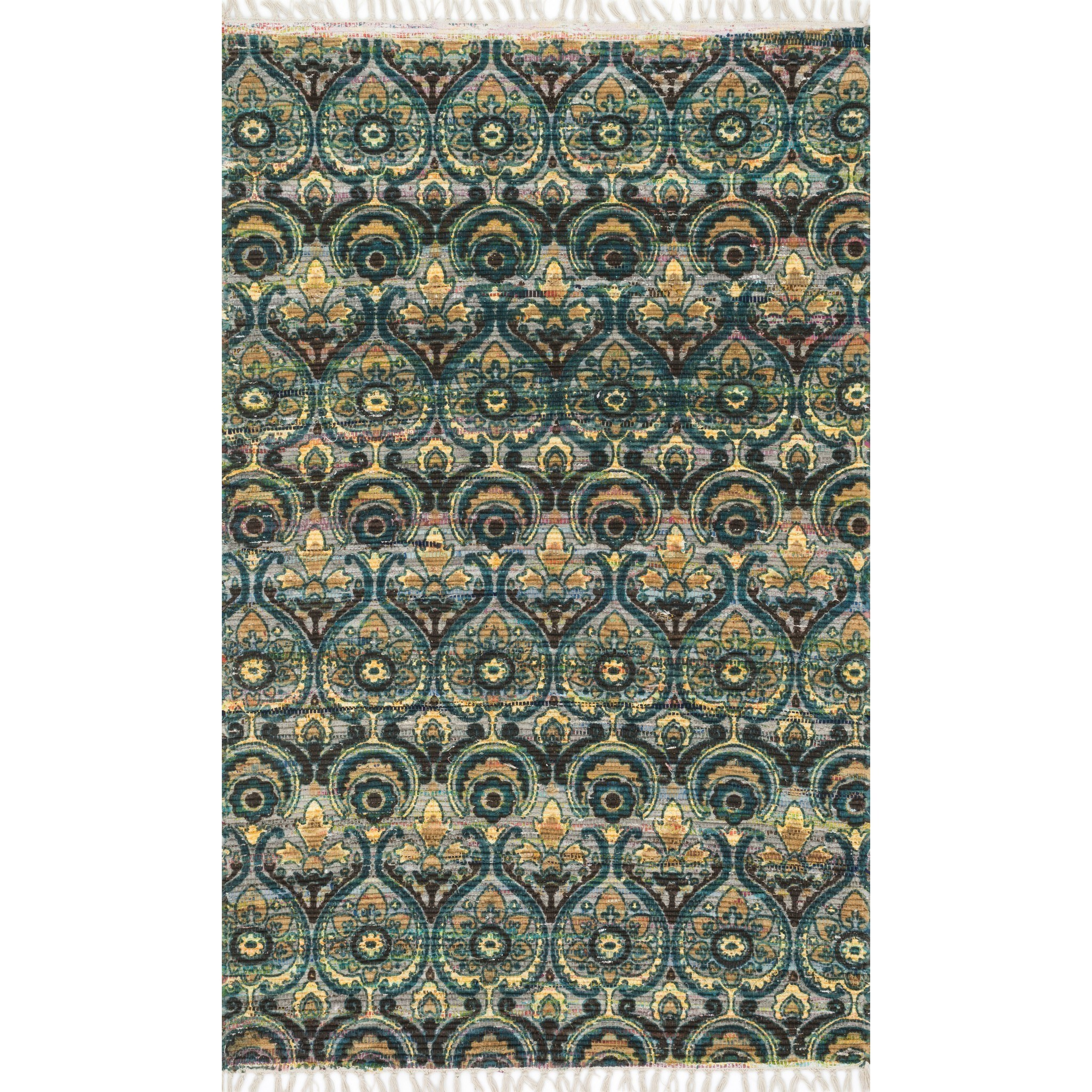 """Aria 1'-9"""" X 5' Area Rug by Loloi Rugs at Virginia Furniture Market"""