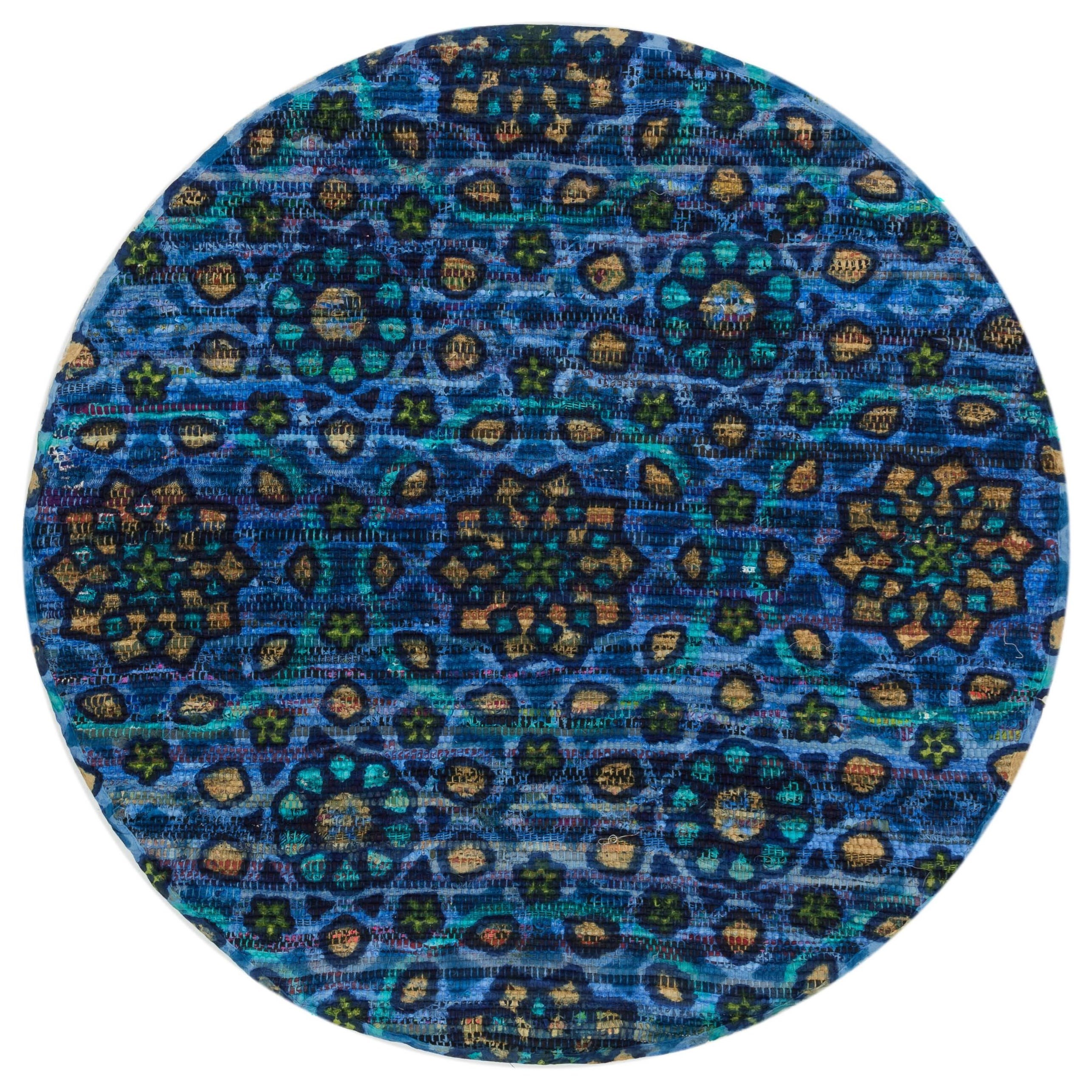 """Aria 3'-0"""" x 3'-0"""" Round Area Rug by Loloi Rugs at Virginia Furniture Market"""