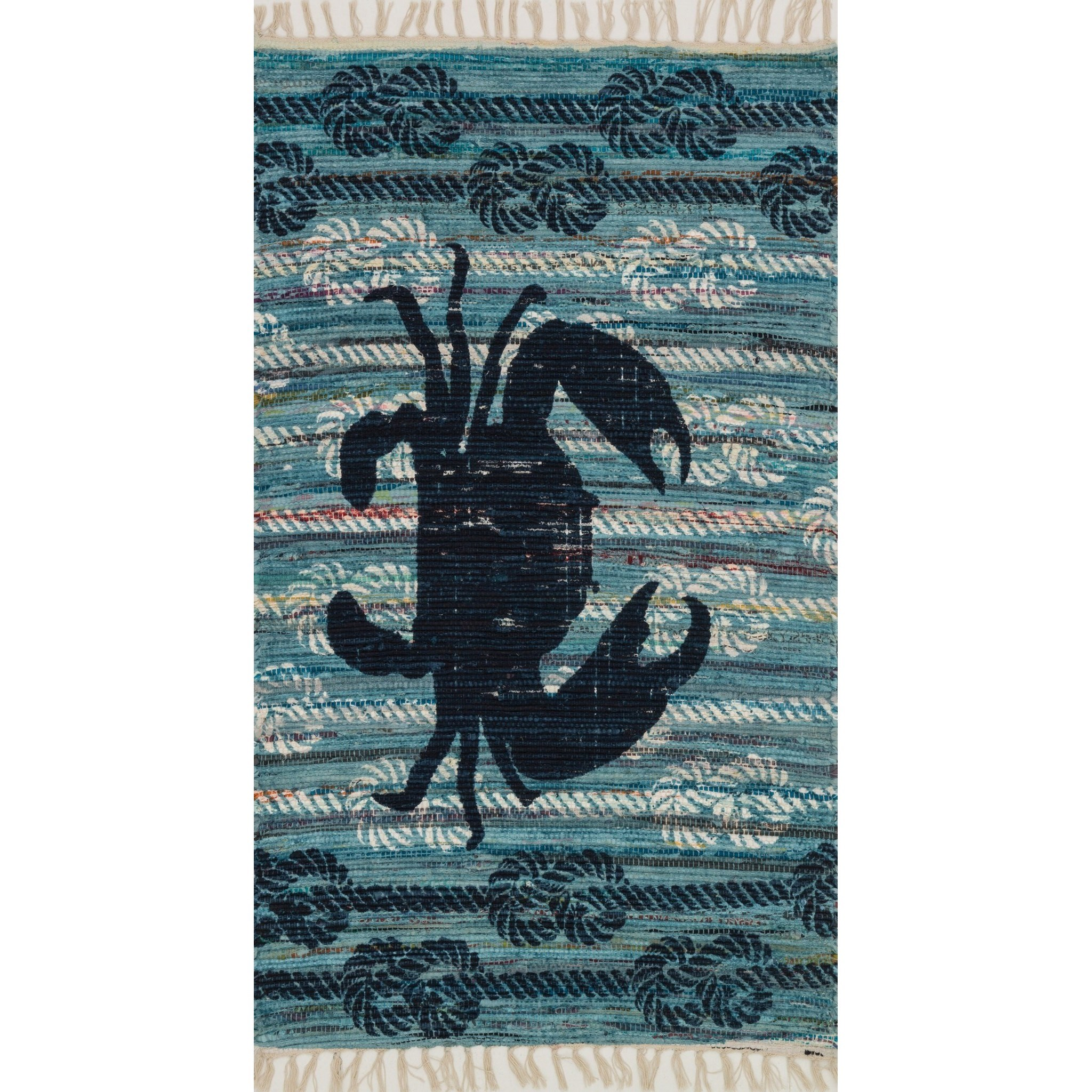 """Aria 2'-3"""" x 3'-9"""" Area Rug by Loloi Rugs at Virginia Furniture Market"""
