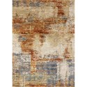 "Reeds Rugs Augustus 3'7"" x 5'7"" Terracotta Rug - Item Number: AUGSAGS-02TC003757"