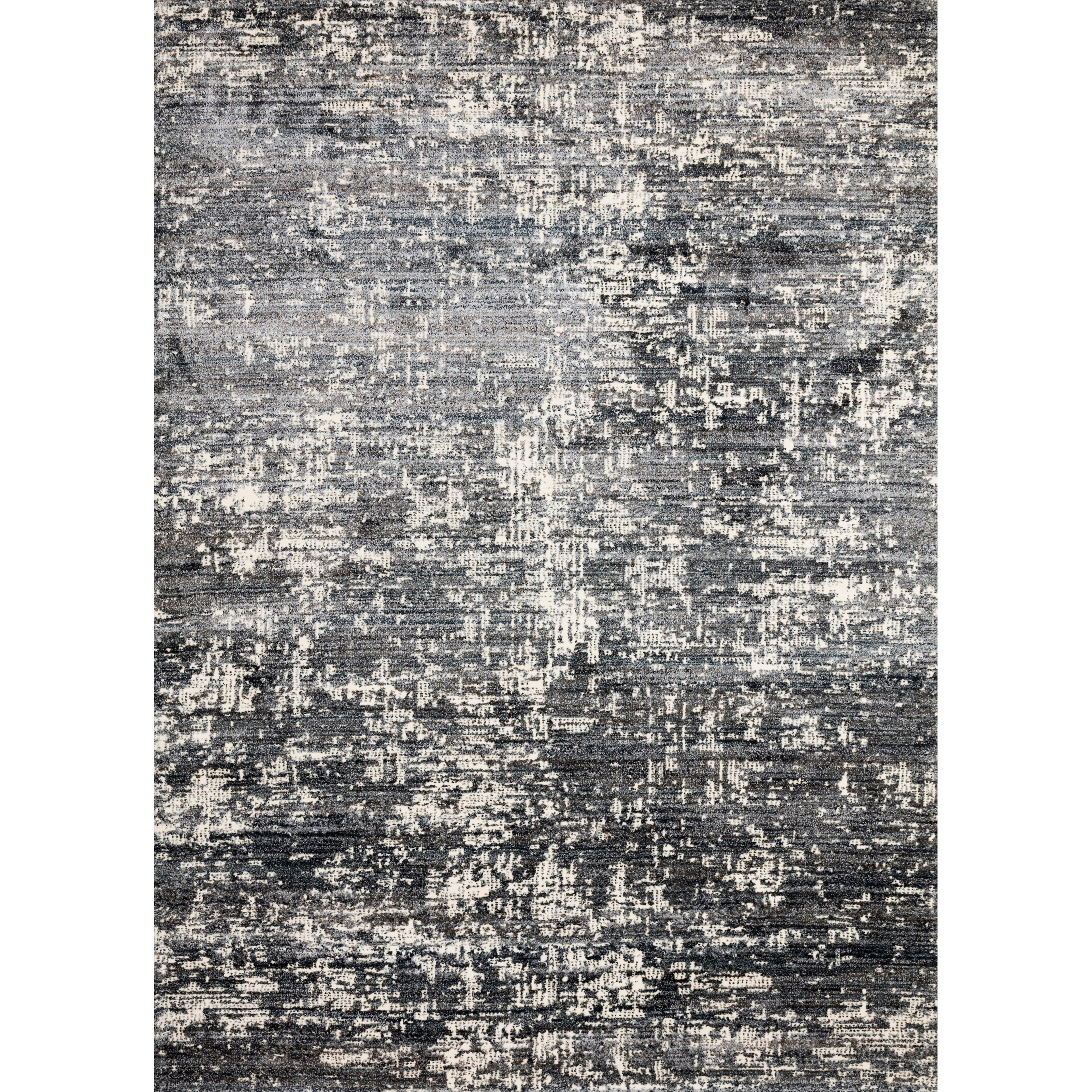 "Augustus 7'10"" x 10'10"" Denim Rug by Loloi Rugs at Virginia Furniture Market"