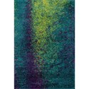 "Reeds Rugs Barcelona Shag 5'-2"" X 7'-7"" Area Rug - Item Number: BARCBS-03PXLL5277"