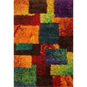 "Reeds Rugs Barcelona Shag 5'-2"" X 7'-7"" Area Rug - Item Number: BARCBS-05ML005277"