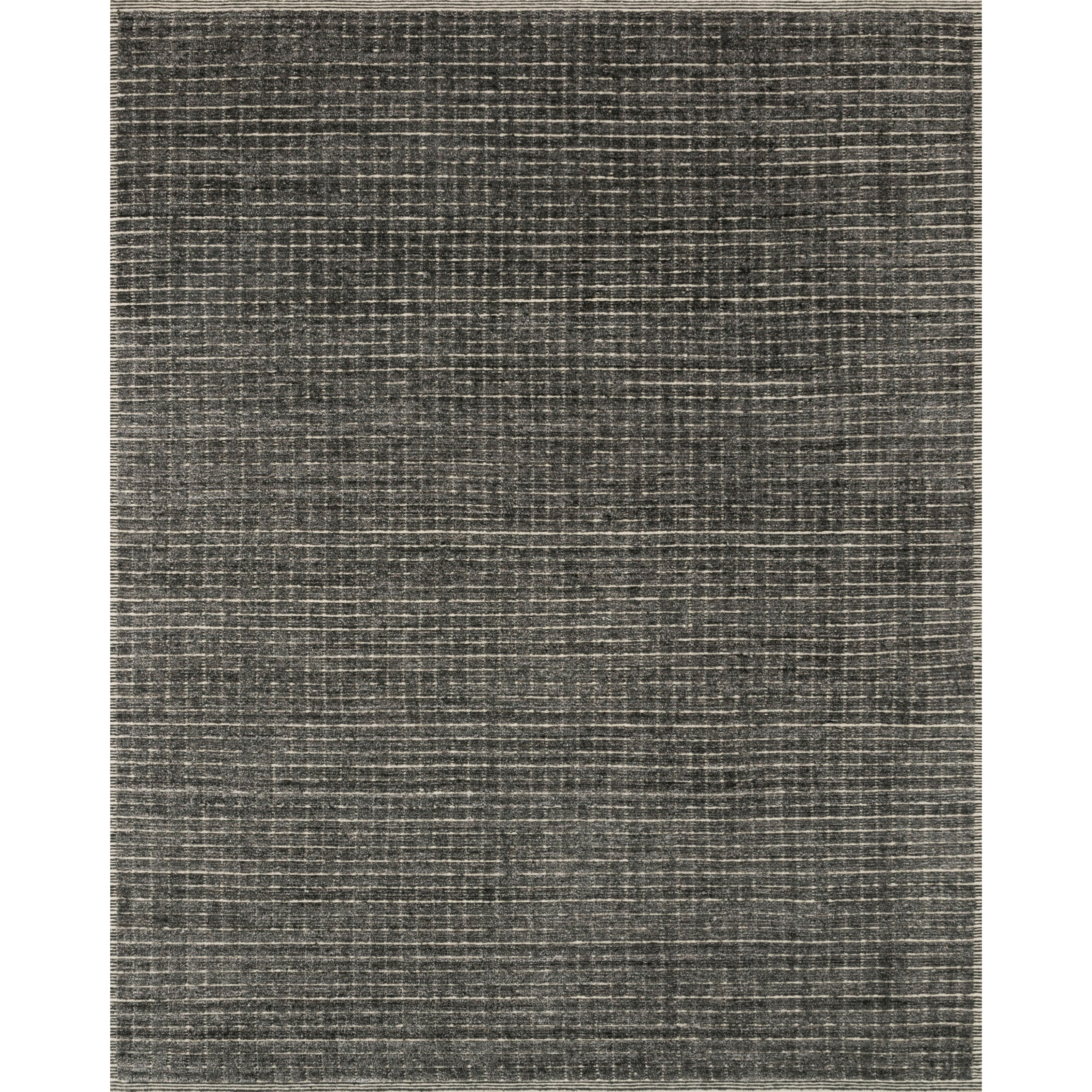 """Beverly 5'6"""" x 8'6"""" Charcoal Rug by Loloi Rugs at Virginia Furniture Market"""