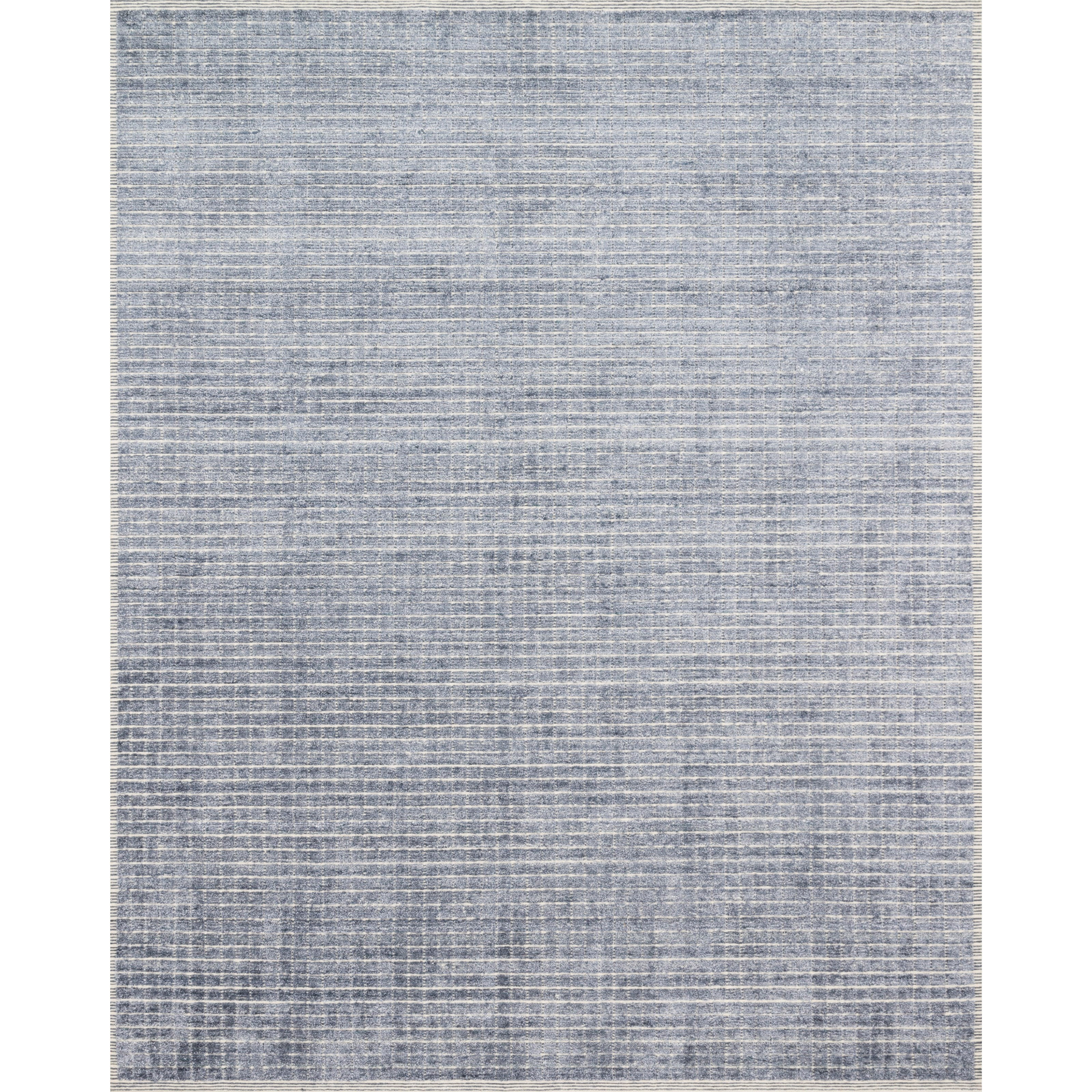 "Beverly 2'6"" x 8'6"" Denim Rug by Loloi Rugs at Virginia Furniture Market"