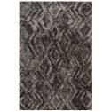 Reeds Rugs CASPIA 5-0 X 7-6 Charcoal Area Rug - Item Number: CAPPCAP-03CC005076