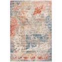 "Loloi Rugs Claire 7'10"" x 10'2"" Grey / Multi Rug - Item Number: CLAECLE-07GYML7AA2"