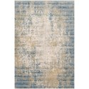 "Reeds Rugs Claire 2'7"" x 8'0"" Neutral / Sea Rug - Item Number: CLAECLE-08NESU2780"