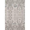 """Reeds Rugs Cole 1'6"""" x 1'6""""  Ivory / Multi Rug - Item Number: COLECOL-01IVML160S"""