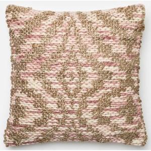"Loloi Rugs Dhurri Style 18"" X 18"" Down Pillow"