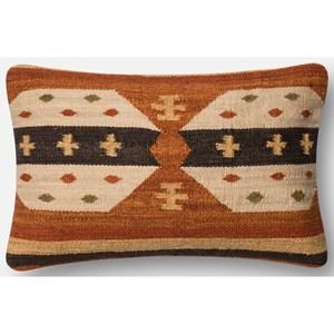 "Loloi Rugs Dhurri Style 13"" X 21"" Down Pillow"